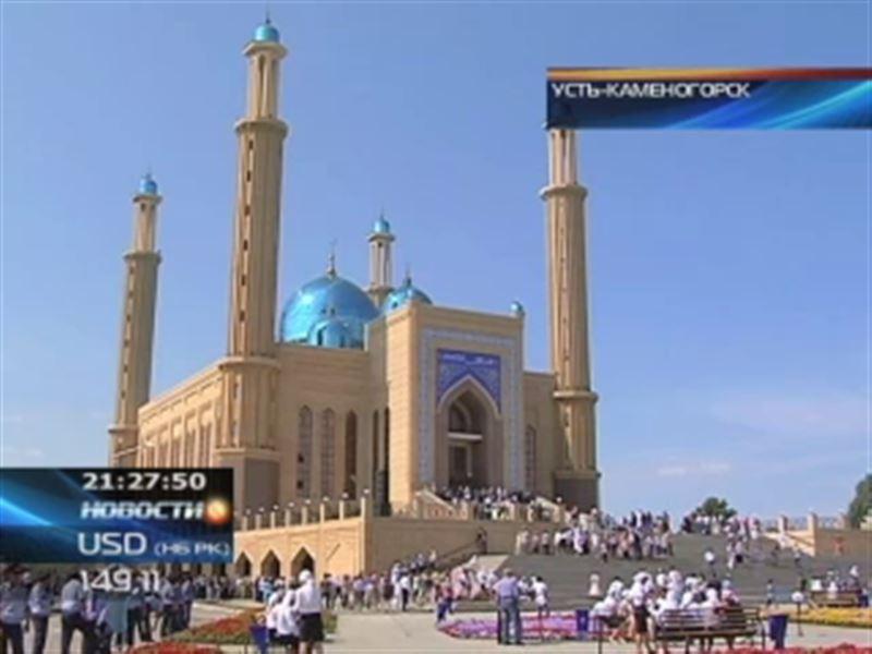 В Усть-Каменогорске открылась одна из крупнейших мечетей страны