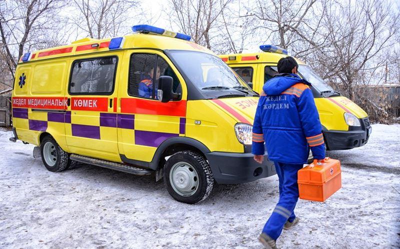 Рабочий погиб, упав с 12-метровой высоты, в Павлодаре