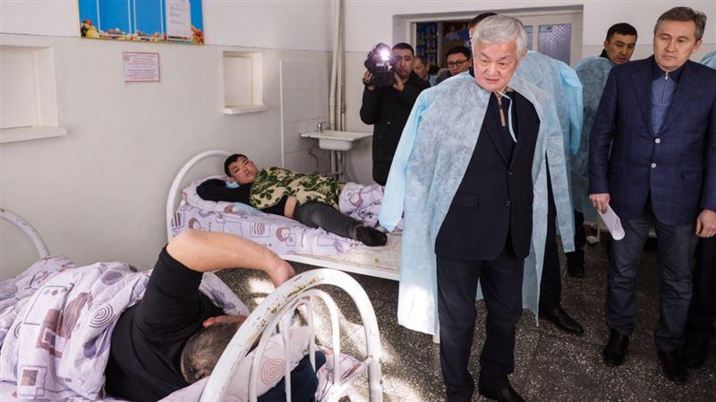 Правительственная комиссия навестила пострадавших в Кордае