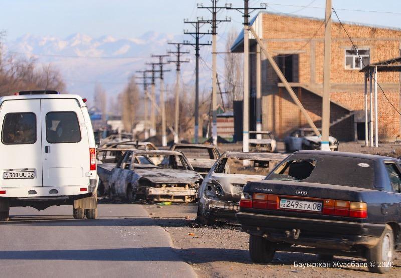 В МВД рассказали хронологию событий в Кордае