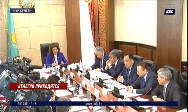 «Это что за отношение?» – Дарига Назарбаева возмущена подходом к легкой промышленности