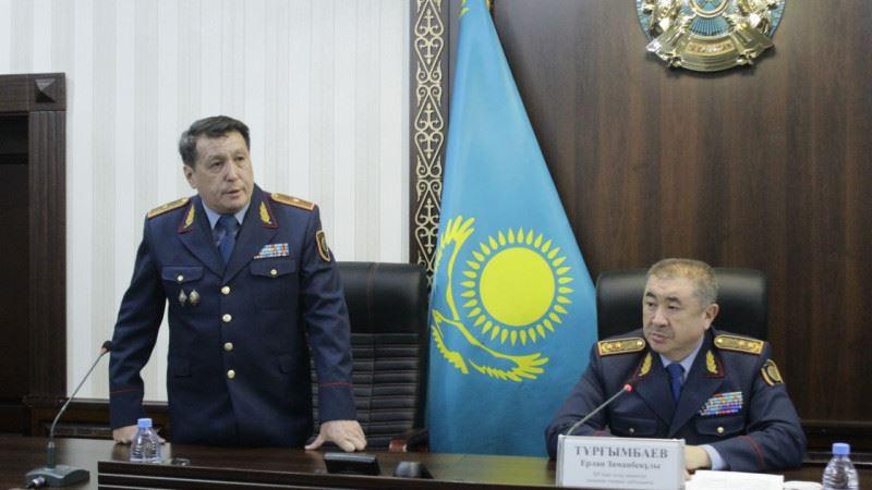 Жамбыл облысы Полиция департаментінің жаңа бастығы тағайындалды