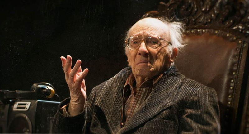 Казахстанский актер Юрий Померанцев отмечает свое 97-летие