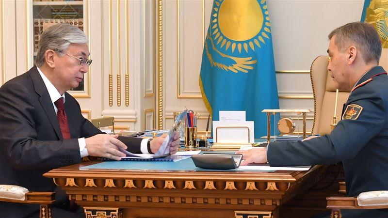 Токаев дал ряд поручений министру обороны