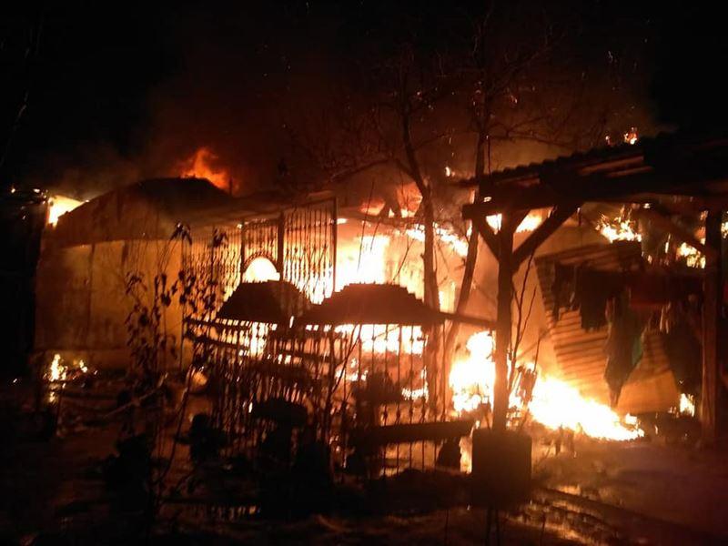 Дом матери 22 детей сгорел в Алматинской области