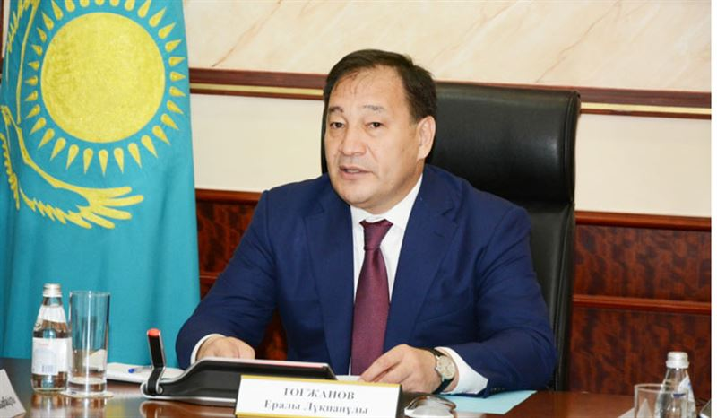 Ералы Тоғжанов ҚР Премьер-Министрінің орынбасары болып тағайындалды