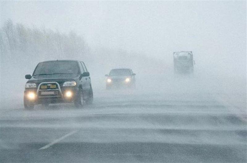 В каких областях Казахстана объявлено штормовое предупреждение