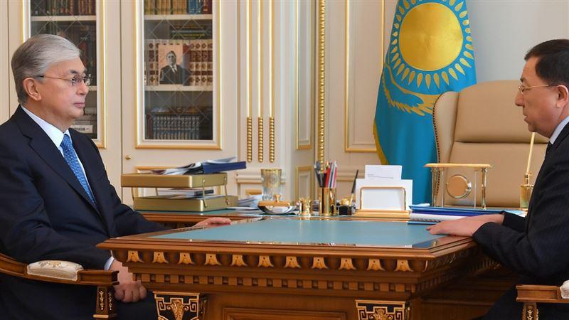 Президент принял председателя Ассамблеи народа Казахстана