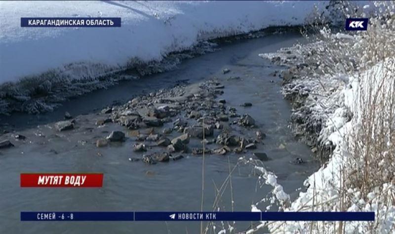 Темиртаусцы негодуют из-за загрязнения Нуры отходами с золоотвала