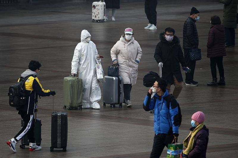 Число погибших от коронавируса в Китае возросло до 1665 человек