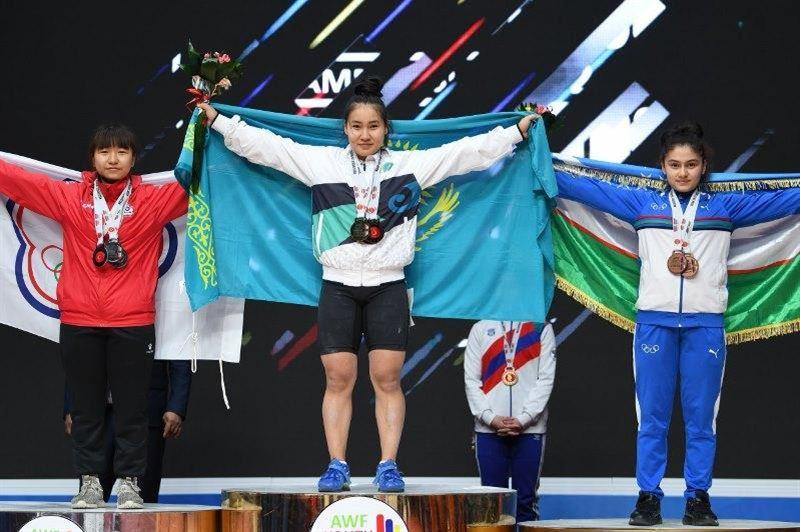 Қазақстандық 3 ауыр атлет Азия чемпионатының жүлдегері атанды