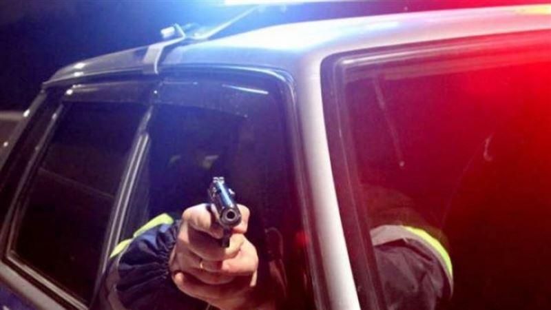 В Жамбылской области полицейские с погоней и стрельбой остановили нарушителя