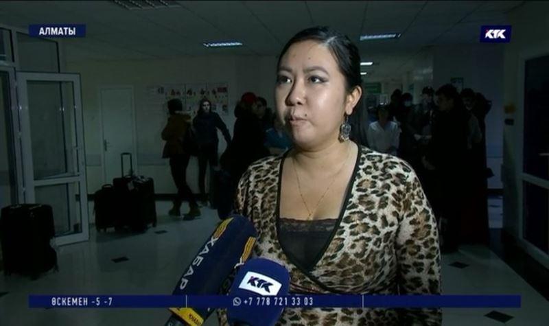 Қытайдан эвакуацияланған қазақ студентісұхбат берді