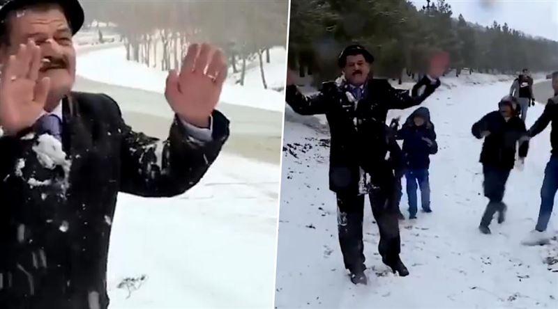 В Ираке впервые за 12 лет выпал снег