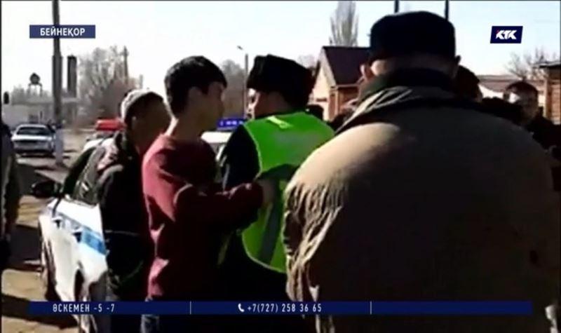 Қордай: Полицейлерге шатақ шығарғандар кінәсін толық мойындады
