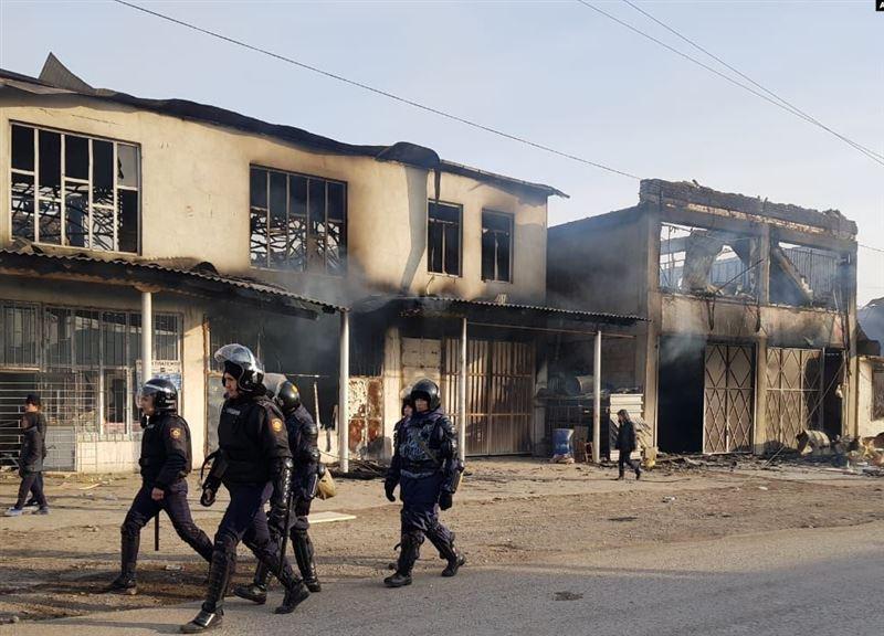 Около 90 уголовных дел возбудили из-за беспорядков в Кордайском районе