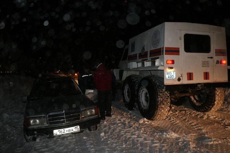 Сколько человек удалось вызволить из снежного плена в СКО