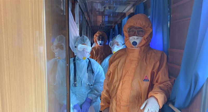 Жолаушылар пойызында коронавирус табылды