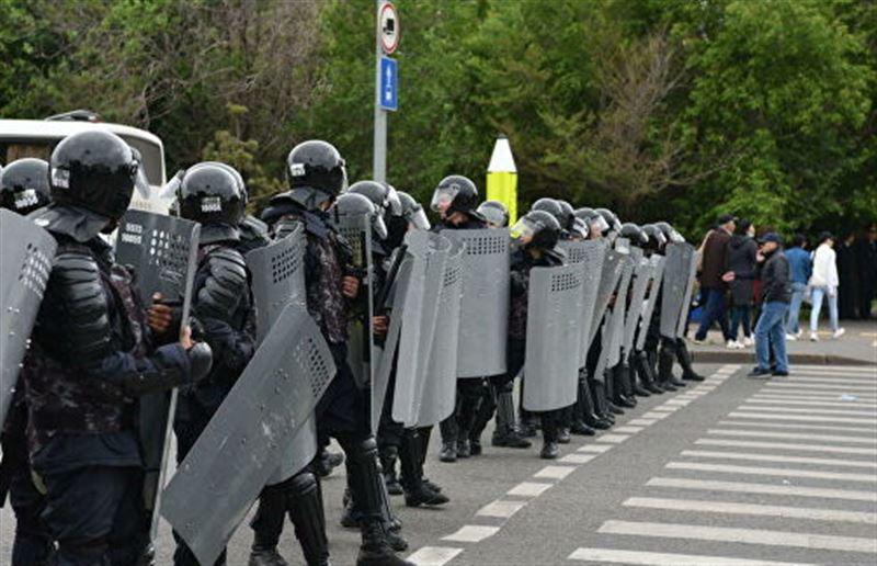 Генеральная прокуратура РК напомнила об ответственности за участие в незаконных митингах