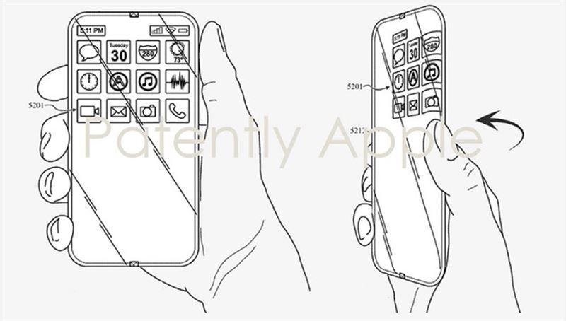 Apple запатентовала полностью стеклянный айфон