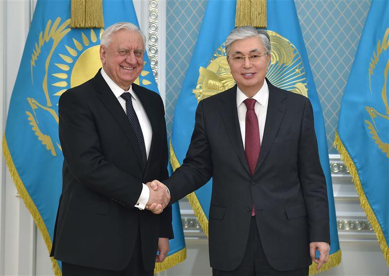Токаев принял председателя Коллегии Евразийской экономической комиссии