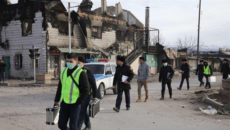 Сколько уголовных дел расследуется после беспорядков в Кордае