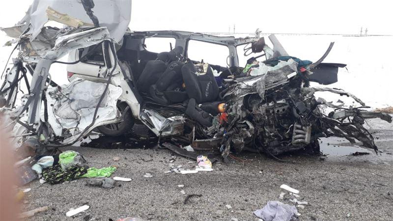 Четверо погибли в результате аварии в Актюбинской области