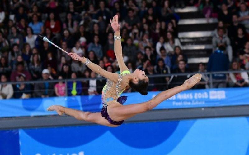 Три бронзовые медали международного турнира завоевали казахстанские гимнастки