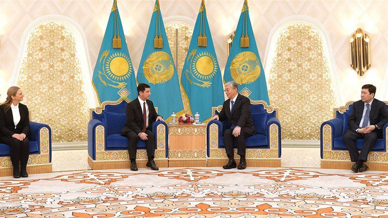 Глава государства принял верительные грамоты послов ряда стран