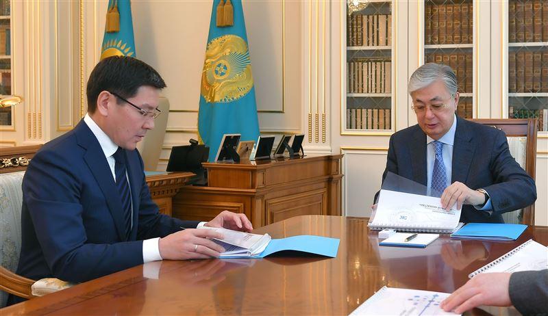 Аскар Жумагалиев доложил президенту о ситуации в сфере информационной безопасности
