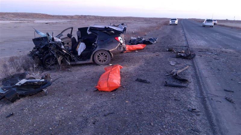 Пятеро стали жертвами ДТП в Атырауской области