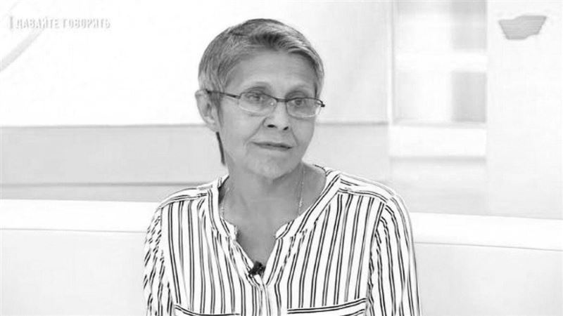 Журналист Ирина Нос скончалась в столице