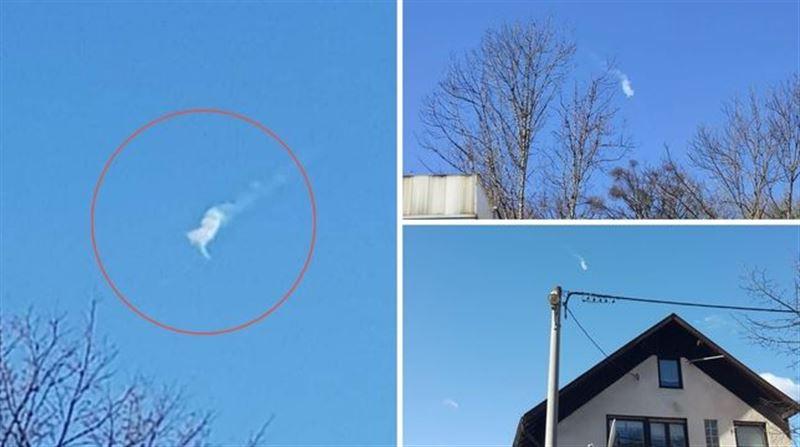 Аспанда жарылған ірі метеор видеоға түсіп қалды