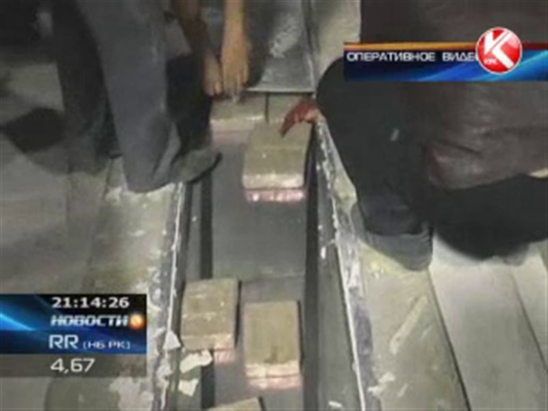 На границе с Кыргызстаном изъяли 180 килограммов опия.