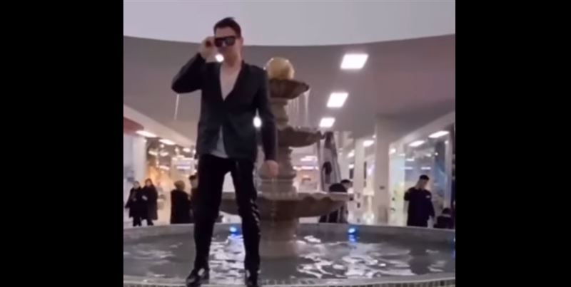 Искупавшегося в фонтане в Усть-Каменогорске разыскивает полиция
