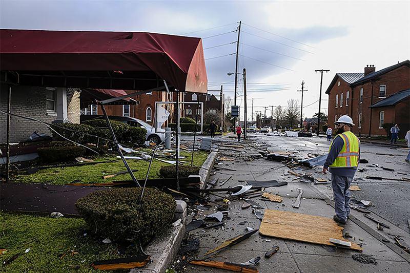 Торнадодан 25 адам көз жұмды