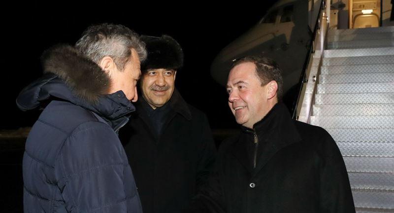 Дмитрий Медведев Қазақстанғакелді