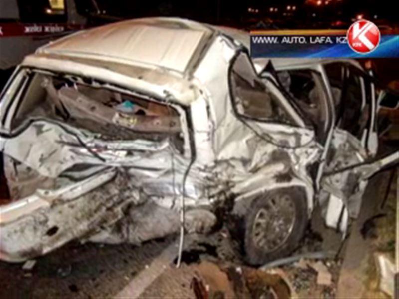В Алматы и области произошли сразу две аварии, в них погибли 10 человек
