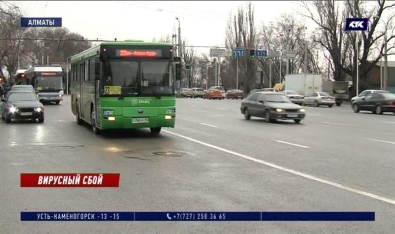 Количество автобусов на маршрутах в Алматы может сократиться