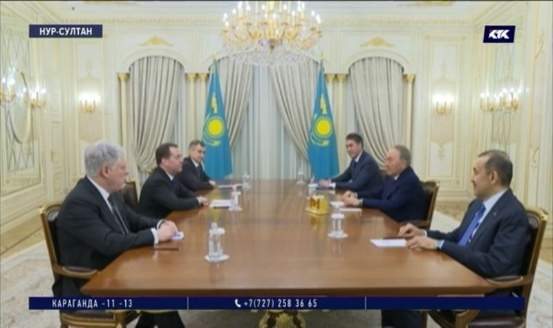 «Мы близкие друзья и союзники» – Дмитрий Медведев приехал в Казахстан