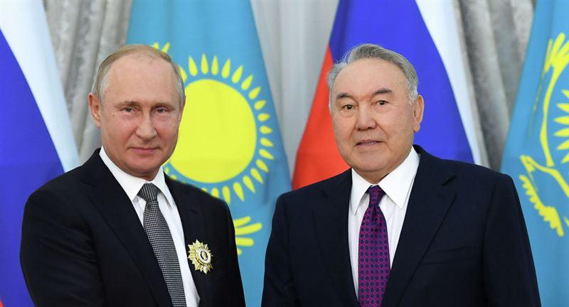 Состоялся телефонный разговор президента РФ Владимира Путина с Елбасы