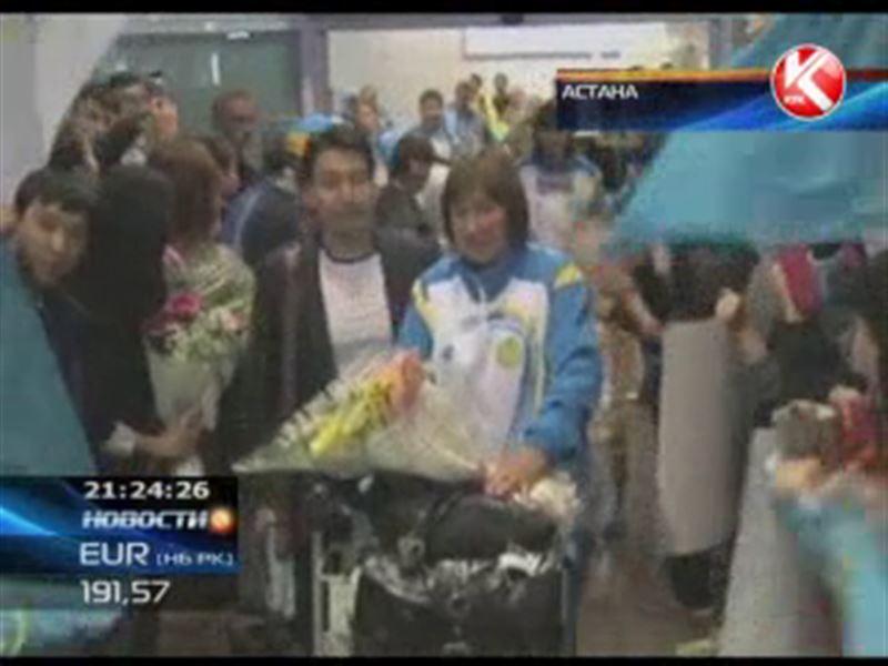 Астана встречала участников Паралимпийских игр