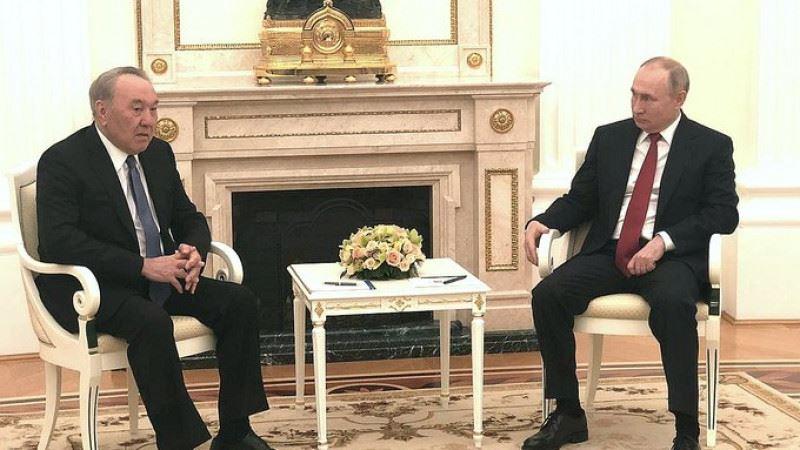 Нурсултан Назарбаев встретился с Владимиром Путиным в Москве