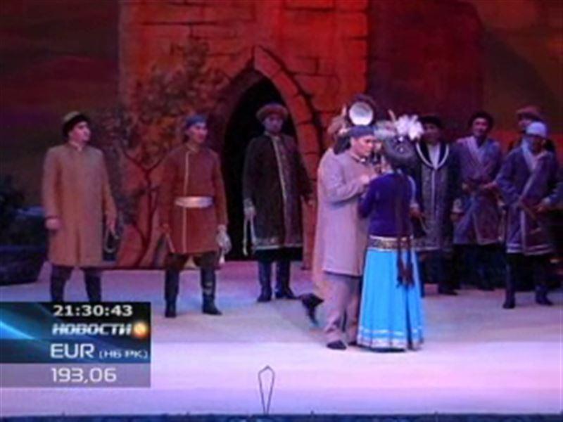 В театре оперы и балета имени Абая открылся очередной сезон