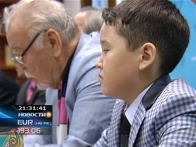 Впервые в Казахстане издан сборник стихов 9-летнего мальчика