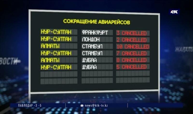 Авиасообщение Казахстана с ОАЭ, Турцией и Европой будет минимальным