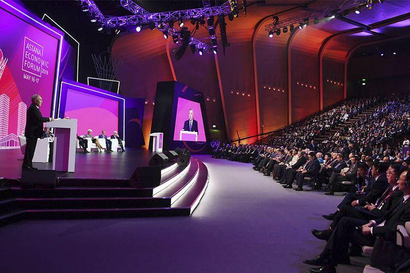 Казахстан в 2020 году не будет проводить ежегодный Астанинский экономический форум