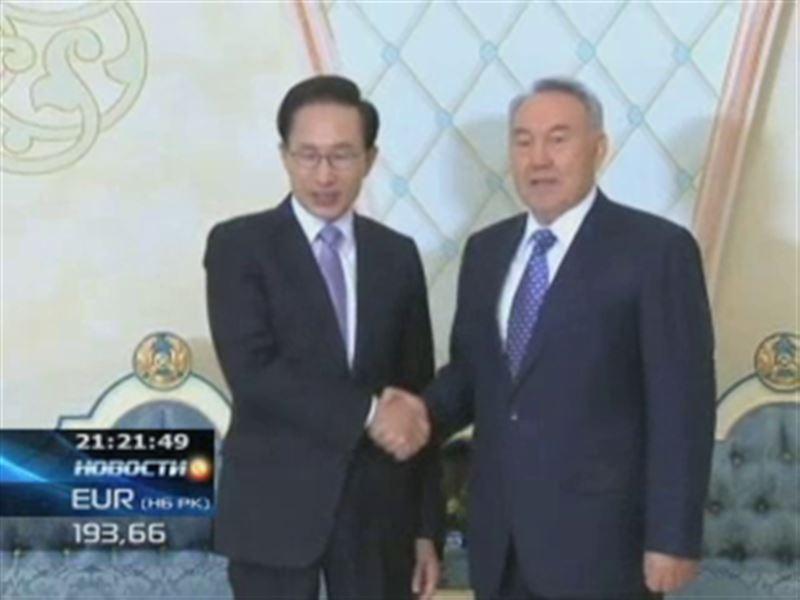 Два президента договорились о возведении ТЭС и торжественно запустили грандиозную стройку