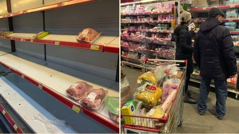 Бахыт Султанов призвал казахстанцев не верить фото в соцсетях об ажиотаже в супермаркетах