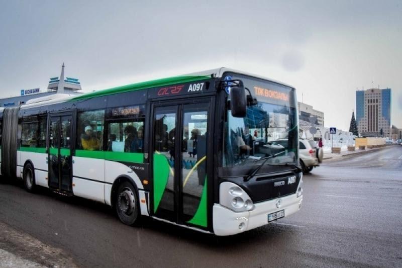С сегодняшнего дня в столице проводят дезинфекцию общественного транспорта